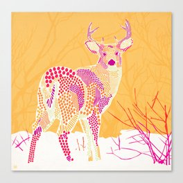 Stag Points Canvas Print