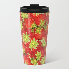 Strawberry Travel Mug