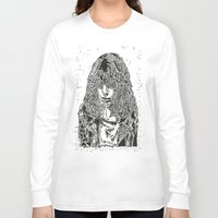 ramones Long Sleeve T-shirts featuring Joey  by Travis Poston