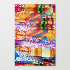 Gipsy Blanket Canvas Print