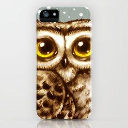 Owl Face iPhone Case