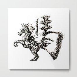 The Zodiac 12 - Horse Metal Print