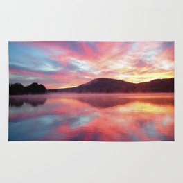 Sunrise: Fire Above and Fire Below Rug