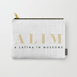 ALIM - A Latina in Museums Carry-All Pouch