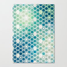 Stars Pattern #003 Canvas Print
