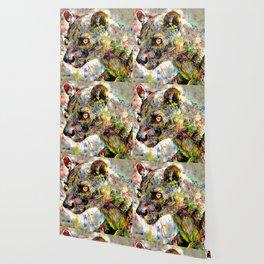 Babou the ocelot Wallpaper