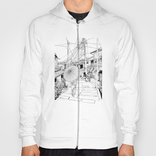 Kyoto - the old city Hoody