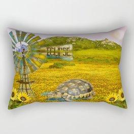 Wind Punk Eclipse Rectangular Pillow