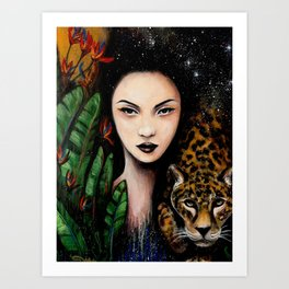 Fierce Beauty Art Print