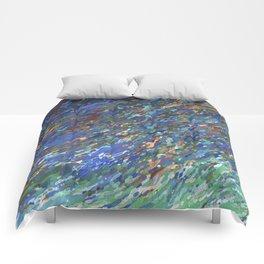 Surfacing Up In A Wave Juul Art Comforters