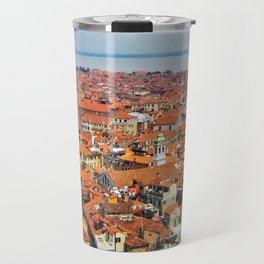 Venice Rooftops Travel Mug