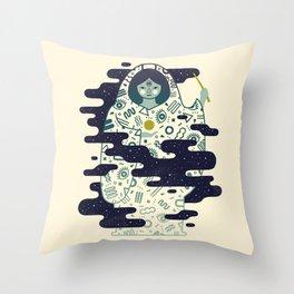 The Magician: Enchantment Throw Pillow