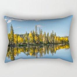 Autumn - 0746 Aspen Mirror Lake, Utah Rectangular Pillow