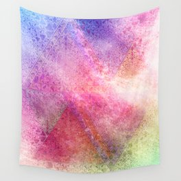 Prismatic Spectrum Wall Tapestry