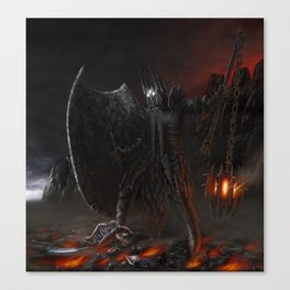 The Fall Of Fingolfin Canvas Print