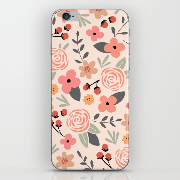 FLOWER FEST iPhone Skin