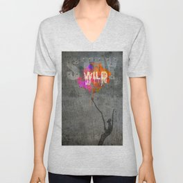 Stay Wild .2 Unisex V-Neck