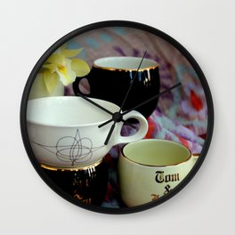 My Cup Runneth Over, Jerry Wall Clock