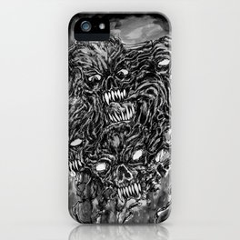 Tormented Hell iPhone Case