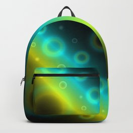Bubbles Abstract Background G115 Backpack