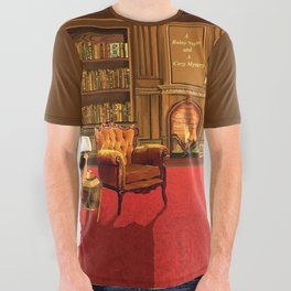 Book Fair All Over Graphic Tee