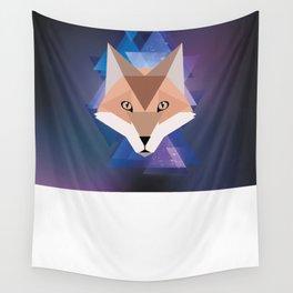 Galaxy Fox Wall Tapestry