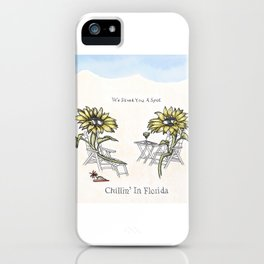 Chillin' in Florida iPhone Case