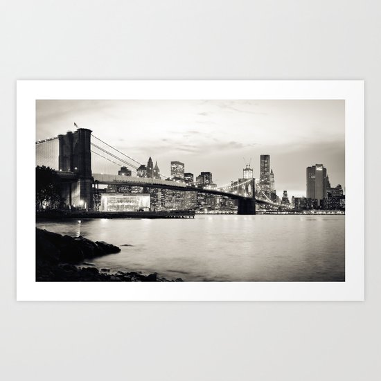 Brooklyn Bridge - New York City Art Print