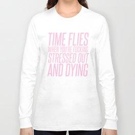 Time Flies Game Grumps Top Long Sleeve T-shirt