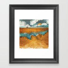 Desert River Framed Art Print