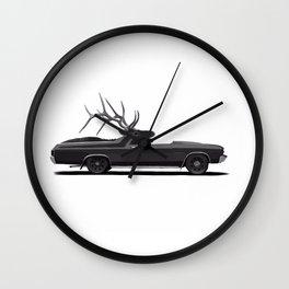 Elk Camino Wall Clock