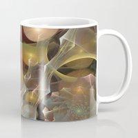 wedding Mugs featuring Wedding Preparations by Klara Acel