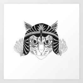 Simba, the fighter Art Print