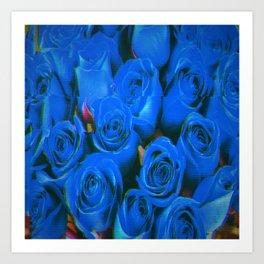 Society6 Roses Art Print