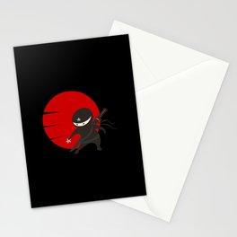 Little Ninja Star - Night version Stationery Cards