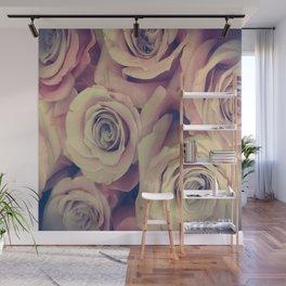 Retro Roses Wall Mural