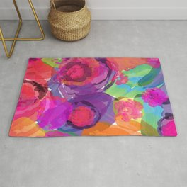 Floral Abstract 85 Rug