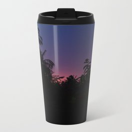 Sunset o the Maldives Metal Travel Mug