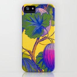 Gooseberries on Yellow iPhone Case