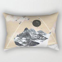 collage art / Wild Nature Rectangular Pillow