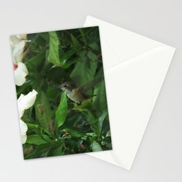 Lady Lurking in the Shade Stationery Cards