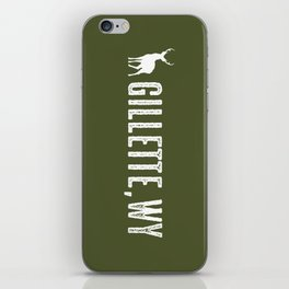 Deer: Gillette, Wyoming iPhone Skin