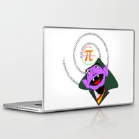 pi Laptop & iPad Skins featuring Count Pi by tuditees