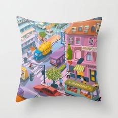 My little Budapest Throw Pillow