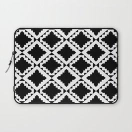 Modern Black Laptop Sleeve