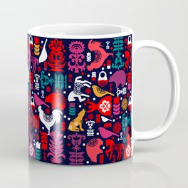 Colorful Folklore Coffee Mug