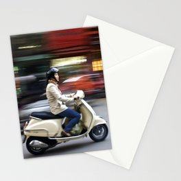 Woman in Hanoi Stationery Cards