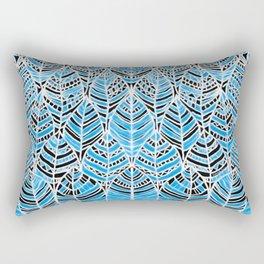 Abstract Feathers Rectangular Pillow