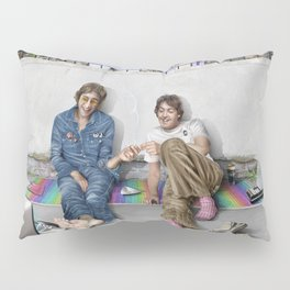 John and Paul get away from it all Pillow Sham