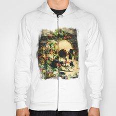 floral skully 2 Hoody